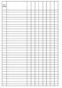 Журнал пустографок (24 графы) скачать
