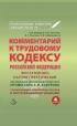 Комментарий к Трудовому Кодексу Российской Федерации (постатейный). 8-е издание