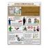 """Комплект плакатов """"Огнестойкие масла. Правила безопасности и личной гигиены"""" (2 плаката, ламинация, 465*610 мм)"""