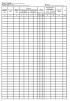 Журнал тахеометрической съемки (Форма УТ-29) когда ведется