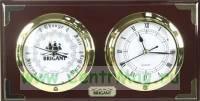 Часы-барометр BRIGANT 16*31см