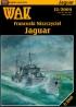 Модель-копия из бумаги Francuski Niszczyciel Jaguar (масштаб 1:200)