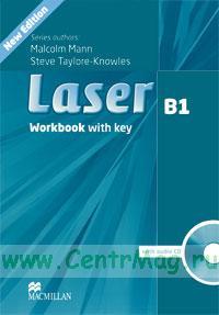 Laser B1 Workbook with key + CD