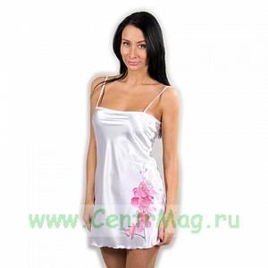 Ночная сорочка женская,белая S