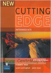 New Cutting Edge Intermediate. Student's book+ mini-dictionary + CD