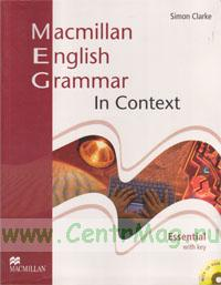 Macmillan English Grammar In Context. Essential with key + CD
