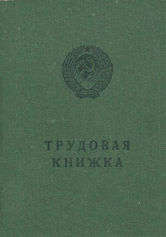 Трудовая книжка (серия БТ-I)